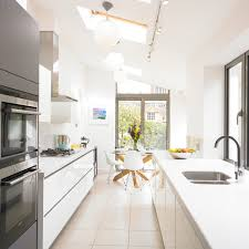 galley kitchen extension ideas kitchen contemporary kitchen ideas terraced house design