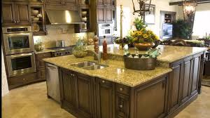 Kitchen Island Designs For Small Spaces View In Gallery Inviting Traditional Kitchen With Cherry Cabinets