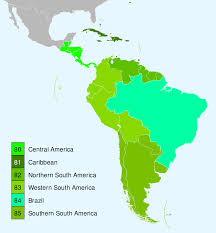Map Of South And Central America by Category Flora Of South America Wikipedia