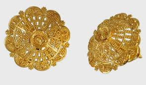 3 gram gold earrings design of gold earrings with
