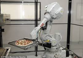 Seeking Robot Date Zume Pizza Uses Robots To Deliver In Four Minutes Daily Mail