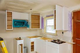 how to fix kitchen base cabinets to wall do kitchen cabinets backs best home fixer