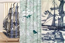 Modcloth Shower Curtain A Tale Of Three Shower Curtains Nautical Obsessed Shoestring