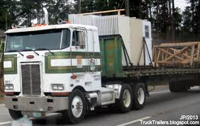 new kenworth cabover truck trailer transport express freight logistic diesel mack