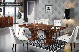 Ebony Modern Dining Set  Classic Italian Dining Room Sets  New - New dining room sets