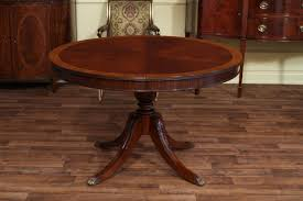 Antique Mahogany Dining Room Set by High End Mahogany Dining Table In A Walnut Finish 48 To 66