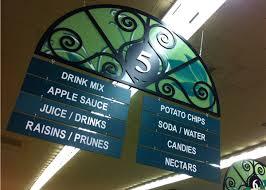 aisle markers dy design supermarket design