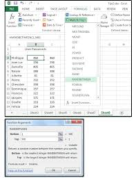 excel tips 6 slick shortcuts handy functions and random number
