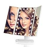 assis led lighted makeup mirror top 10 best makeup mirrors in 2018 reviews