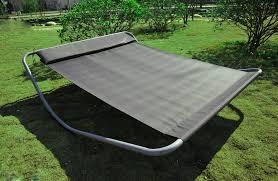 chaise longue transat outsunny bain de soleil chaise longue transat à bascule deux