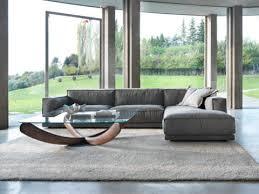 canapé contemporain design tissu canapé contemporain en tissu 2 places gris klab design