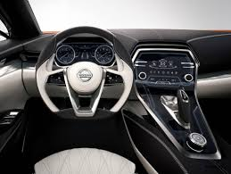 white nissan maxima interior future nissan maxima concept 3 5 in lower roof 2 1 in wider
