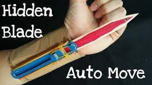 how to make the full automatic hidden blade assassin u0027s creed