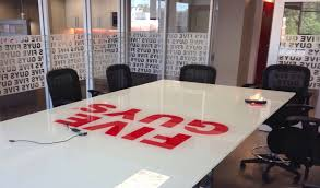 custom glass table top near me corporate conference table design