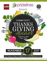 community thanksgiving dinner pridelines miami 17 november