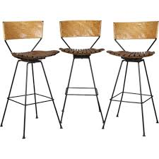 Bar Stool Sets Of 3 Innovative Bar Stool Sets Of 3 Set Of 3 Arthur Umanoff Mid Century
