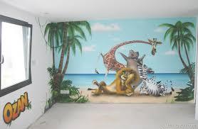 mur chambre enfant decoration murale chambre enfant cuisine dã co chambre fresque