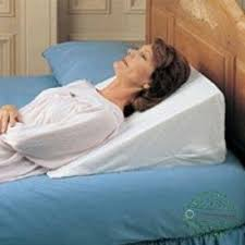 wedge bed pillows foam wedge bed pillow in 7 10 and 12 inch sizes