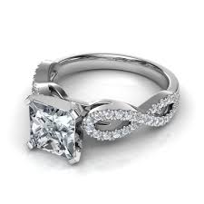 Wedding Rings Princess Cut by Princess Cut Engagement Rings With Side Diamonds