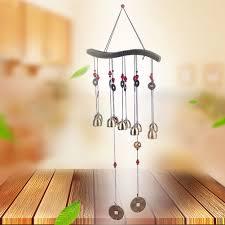 outdoor living garden wind chimes metal 10 bells copper