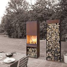 Outdoor Grill And Fireplace Designs - best 25 fire pit bbq ideas on pinterest outdoor cooking stove