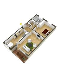 40 more 1 bedroom home floor plans