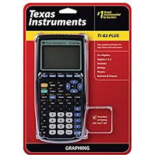 Graphing Calculator With Table Amazon Com Texas Instruments Ti 83 Plus Graphing Calculator