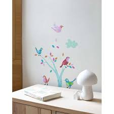 Stickers Arbre Blanc by Stickers Chambre Bebe Nuage U2013 Chaios Com
