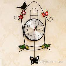 Wall Clock For Living Room by European Living Room Wall Clock Vintage Decoration Creative Quartz