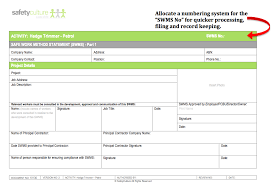incident report template qld swms frequently asked questions