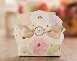 wedding party favor boxes party favor box etsy