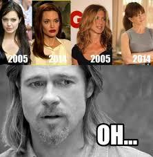 Hollywood Meme - funny hilarious hollywood memes funny jennifer aniston brad pitt