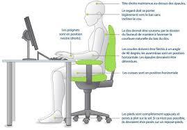 posture au bureau adopter une bonne position au travail bien o bureau