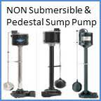 Pedestal Or Submersible Sump Pump Water Pump Specifications By Pump