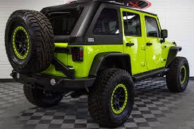 jeep unlimited green 2017 jeep wrangler rubicon unlimited hyper green