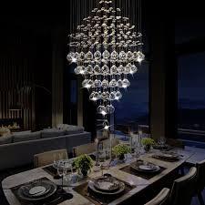Esszimmer Lampe Amazon Kristall Leuchter Acelectronic ø40cm 16inch L88cm 35inch Modern