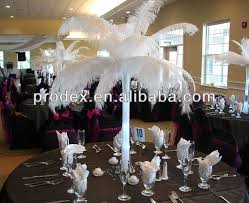 ostrich feather centerpieces party decoration wedding decoration ostrich feather centerpiece