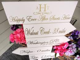 wedding details ceremony reception signs on etsy elegant gold white