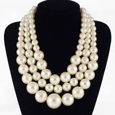 big pearls necklace images 49 giant faux pearl necklace bergen pickers everything vintage jpg