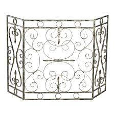 comely glass decorative fireplace screens home design lover plus