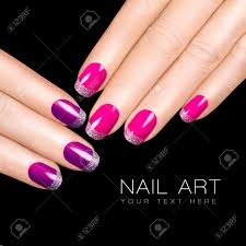 10 gleaming nail arts in black and silver womenitemscom black and