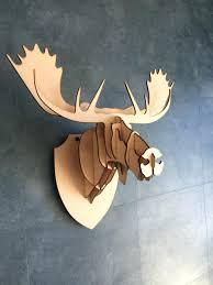 100 deer head home decor horns art print deer silhouette