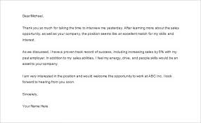 thank you letter to recruiter u2013 10 free sample example format