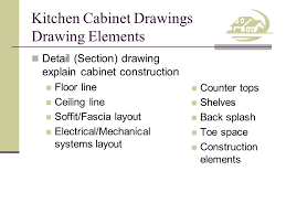 Kitchen Cabinet Drawing Objective Develop Plans For Kitchen Cabinets Ppt Download