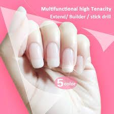 zero nana 5 pure color multi functional modelling extension gel