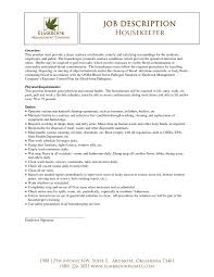 representative image housekeeping resume sample berathen com