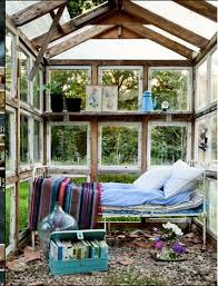 Outdoor Bedrooms Recycled Windows Would Make A Great Greenhouse Garden