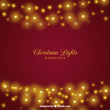christmas background with elegant lights vector free download