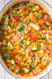 weight loss vegetable soup averie cooks