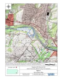 Map Of Berks County Pa Douglassville Disposal Superfund Site Profile Superfund Site